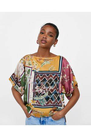 Zara Naiset Kimonot - PATCHWORK PRINT KIMONO