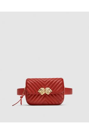 Zara CROSSBODY BELT BAG WITH LIONS DETAIL