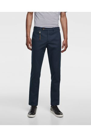Zara CHINO TROUSERS WITH TEXTURED WEAVE