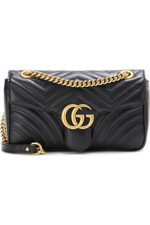 Gucci Naiset Lompakot & Kukkarot - GG Marmont leather shoulder bag