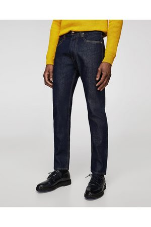 Zara BASIC STRAIGHT FIT JEANS