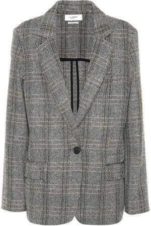 Isabel Marant, Étoile Naiset Bleiserit - Charly checked wool blazer