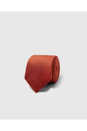 Zara WIDE TEXTURED WEAVE TIE