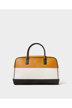 Zara COLOR BLOCK BOWLING BAG