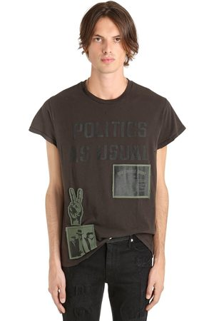 MADEWORN X JAY Z Politics As Usual Cotton Jersey T-shirt