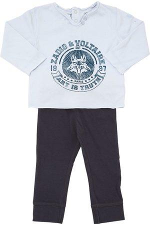 Zadig & Voltaire Cotton Jersey T-shirt & Jogging Pants