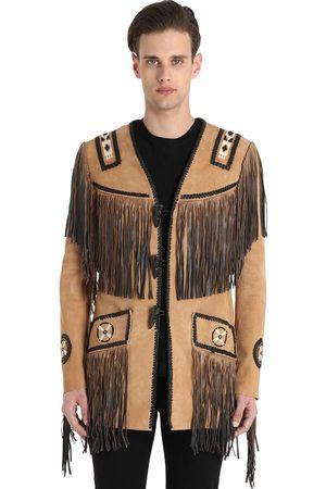 CHRISTOPHE TERZIAN Hendrix Fringed Suede Jacket