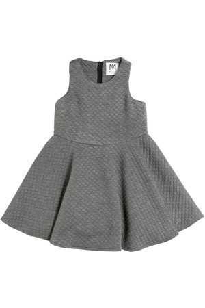 Milly Quilted Flared Dress