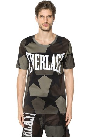 EVERLAST PORTS 1961 Cotton Printed Logo T Shirt