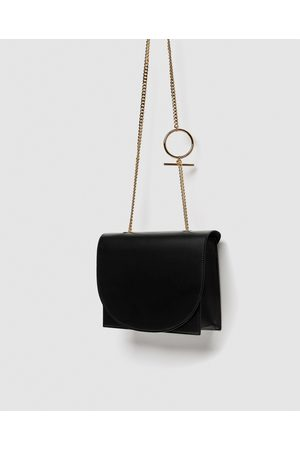 Zara CROSSBODY BAG WITH GEOMETRIC HANDLE