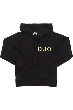DUO Basic Printed Cotton Jersey Sweatshirt