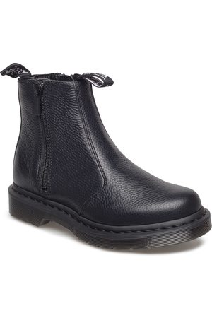 Dr. Martens 2976 Zip Shoes Boots Ankle Boots Ankle Boots Flat Heel