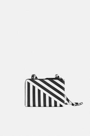 Zara DOUBLE GUSSET CROSSBODY BAG
