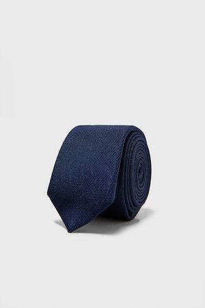 Zara Miehet Solmiot - Textured skinny tie