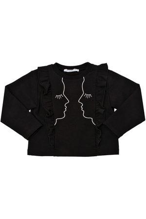 VIVETTA Embroidered Cotton Sweatshirt
