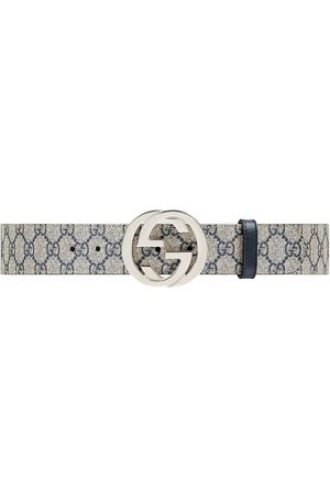 Gucci Miehet Vyöt - GG Supreme belt with G buckle