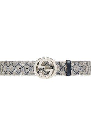 Gucci Vyöt - GG Supreme belt with G buckle