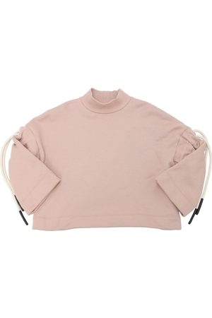 Unlabel Cotton Sweatshirt W/ Drawstrings