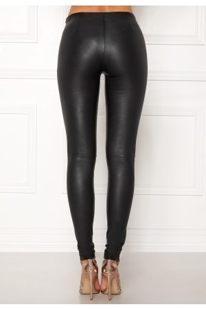 SELECTED FEMME Sylvia Leather Legging Black 40