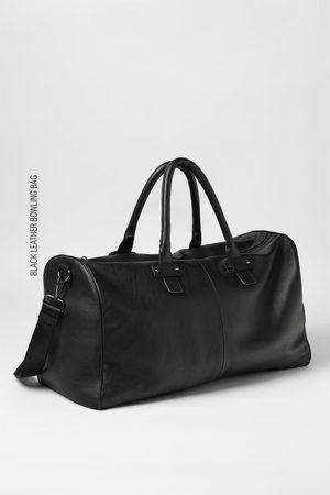 Zara Naiset Bowling Laukut - LEATHER BOWLING BAG