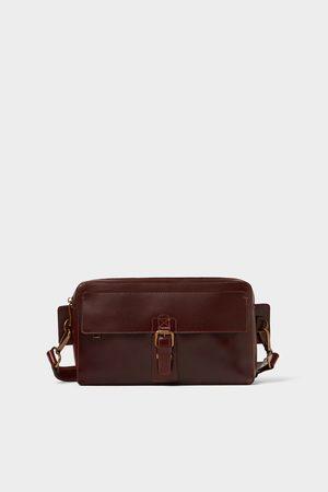 Zara BROWN CROSSBODY BAG