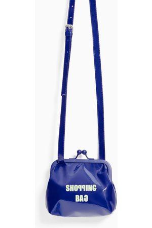 Zara MINI CROSSBODY BAG WITH KISS-LOCK CLOSURE