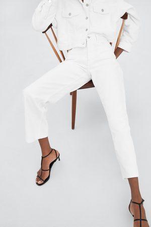 Zara WIDE-LEG CORDUROY TROUSERS