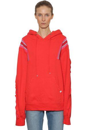 FACETASM Oversized Sweatshirt Hoodie W/ Rib Bands