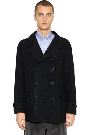 Armani Double Breasted Wool Coat