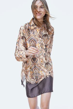 Zara PRINTED TUNIC