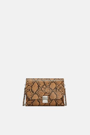 Zara CROSSBODY BAG WITH CHAIN STRAP