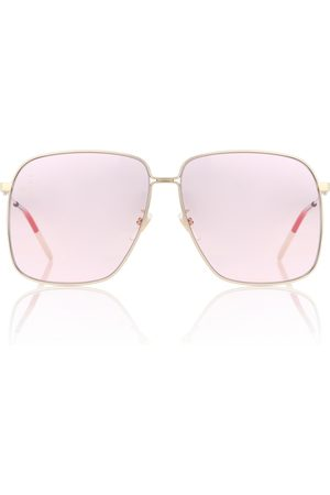 Gucci Naiset Aurinkolasit - Rectangular sunglasses