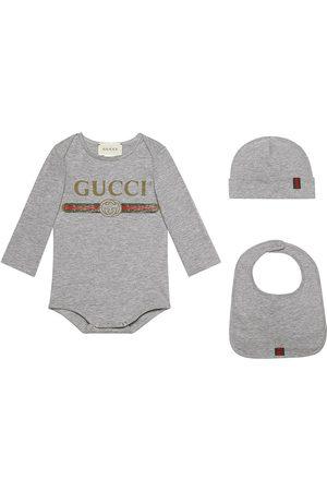 Gucci Baby Gucci logo cotton gift set