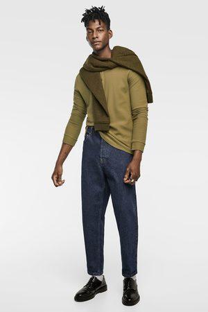 Zara TEXTURED WEAVE T-SHIRT