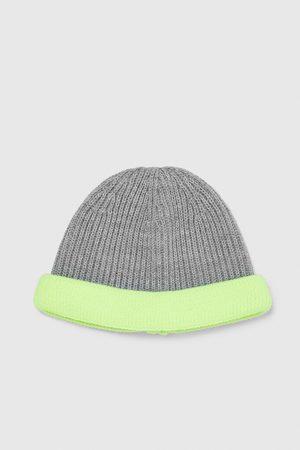 Zara RIBBED NEON HAT