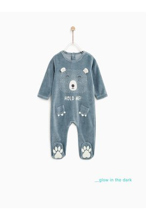 Zara GLOW-IN-THE-DARK SLEEPSUIT