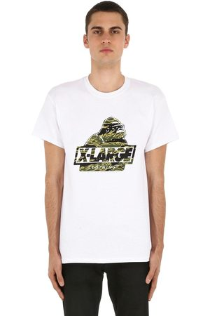 X-Large Camo Og Printed Cotton Jersey T-shirt