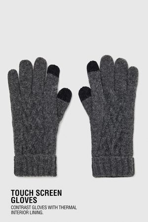 Zara CABLE-KNIT GLOVES