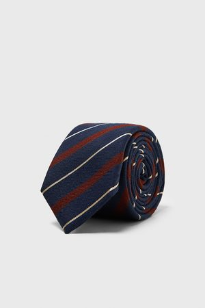 Zara WIDE STRIPED TIE
