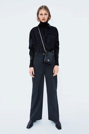 Zara MINI CROSSBODY BAG WITH CHAIN STRAP
