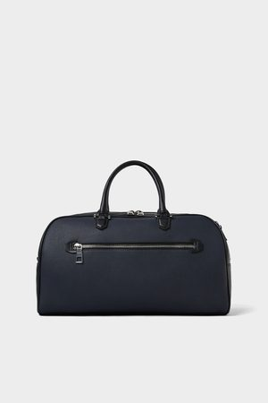 Zara SMART BLUE BOWLING BAG