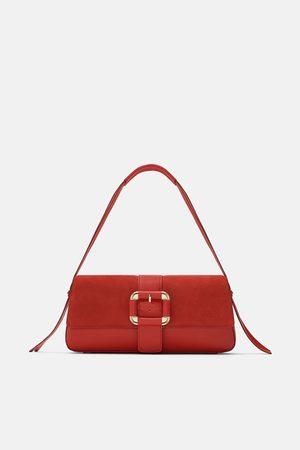 Zara CROSSBODY BAG WITH BUCKLE CLOSURE
