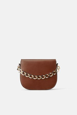 Zara CROSSBODY BAG WITH CHAIN