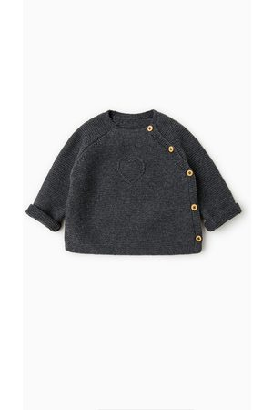 Zara KNIT SWEATER WITH CROSSOVER BUTTONS