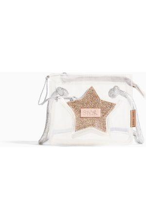 Zara Naiset Olkalaukut - VINYL CROSSBODY BAG WITH STAR DETAIL