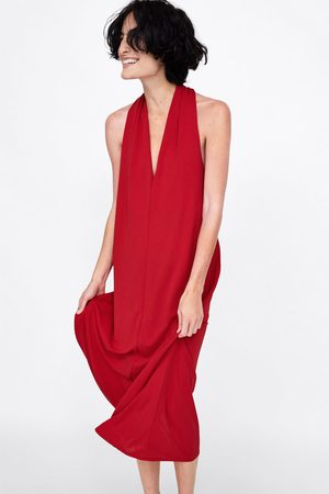 Zara HALTER NECK DRESS