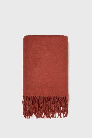 Zara Fringed scarf
