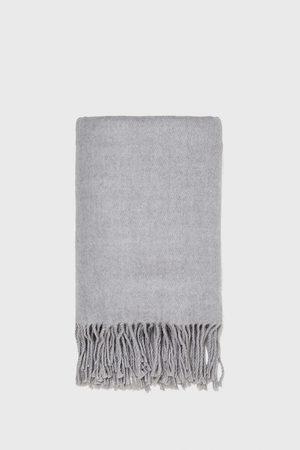 Zara SCARF WITH FRINGES