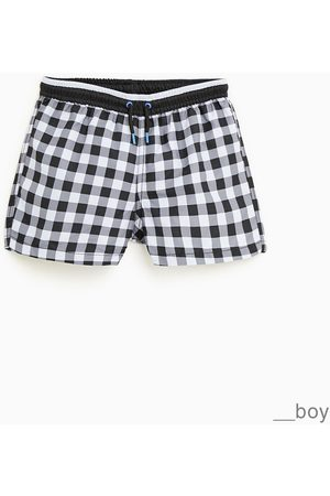 Zara Bermuda-shortsit - GINGHAM CHECK BERMUDA SHORTS