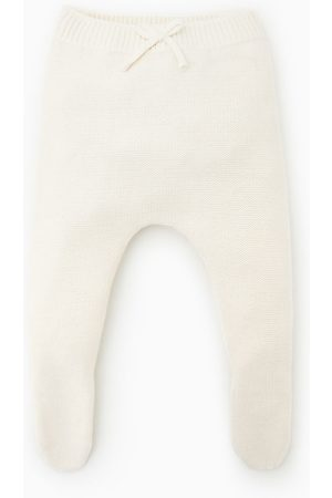 Zara BASIC KNITTED FOOTED LEGGINGS
